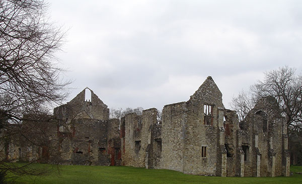 Netley Abbey, one of the houses of the Paulets in Hampshire